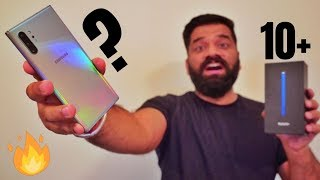 Samsung Galaxy Note 10+ Unboxing & First Look - The Beautiful Beast🔥🔥🔥