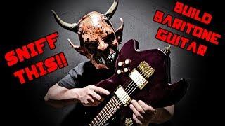 rise of baphomet - model 66x baritone guitar build