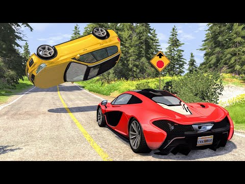 Loss Of Control Crashes #32 – BeamNG Drive | CrashBoomPunk