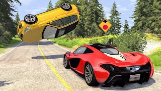 Loss of Control Crashes #32 - BeamNG Drive | CrashBoomPunk