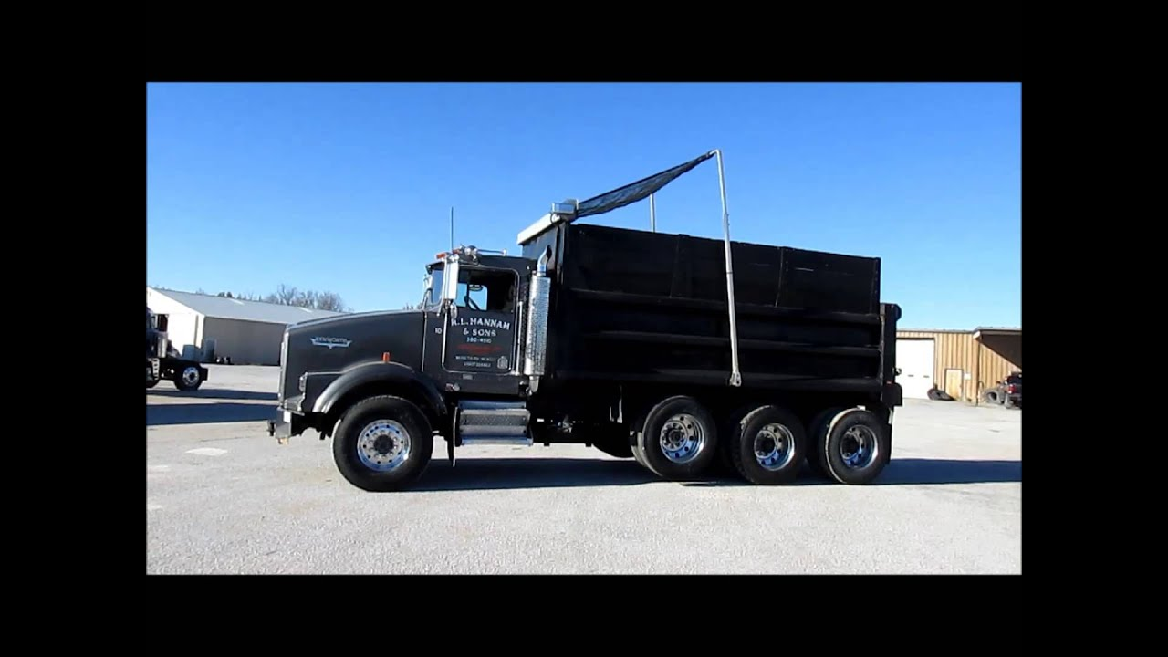 2005 kenworth t800 triple axle dump truck for sale sold at auction switch also kenworth t800 dump truck on kenworth pto switch wiring [ 1280 x 720 Pixel ]