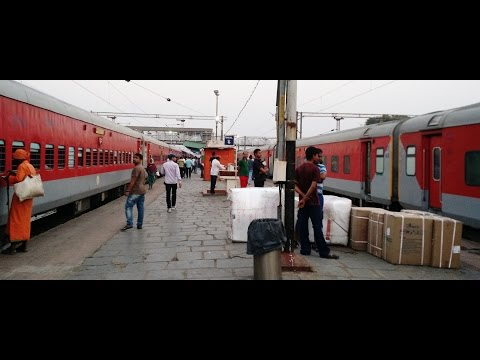 DURONTO Vs RAJDHANI : Chennai - Delhi Full Journey By LHB DURONTO Express [Part 1]