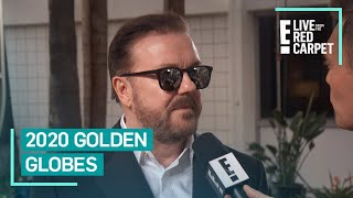 Ricky Gervais Warms Up for 2020 Golden Globes | E! Red Carpet & Award Shows