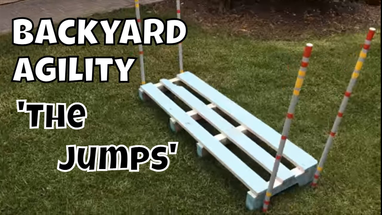 Backyard Dog Agility - Do It Yourself -/ DIY Set - Hurdles / Jumps - Backyard Dog Agility - Do It Yourself -/ DIY Set - Hurdles / Jumps