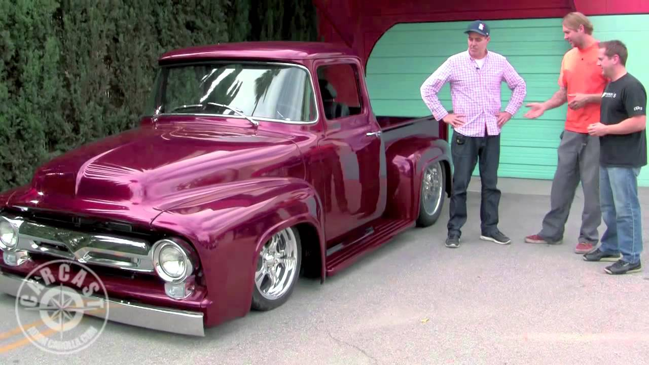 Bodie Stroud Amp His Custom 1956 Ford F 100 On CarCast With