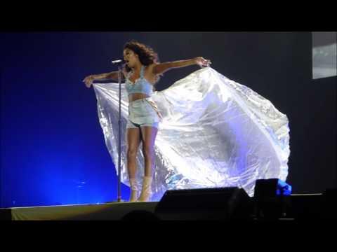 Victoria Monet - More of you live - Dangerous woman tour - Sweden 2017