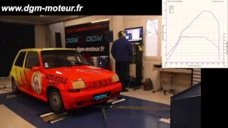 RENAULT 5 GT TURBO 188ch - Dijon Gestion Moteur