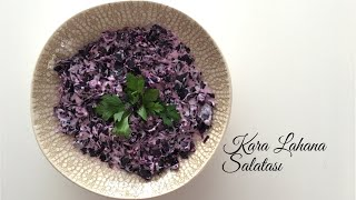 Kara Lahana Salatası - Pratik Tarifler / Yemek Tarifleri - Melis'in Mutfağı