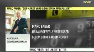 Marc Faber: Manipulation, Goldverbot, Enteignung und Krieg (