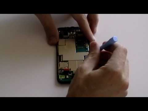 HTC Droid Incredible Disassemble Take Apart Repair Guide