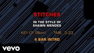 Shawn Mendes - Stitches (Karaoke Smash Hits Vol. 1)