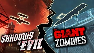 Black Ops 3 Zombies - THE GIANT/ SHADOWS OF EVIL EASTER EGG - MOTD Plane Easter Egg! (BO3 Zombies)