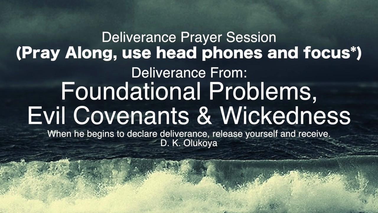 Prayer Session: Foundation,  Evil Covenants & Wickedness | Dr Olukoya