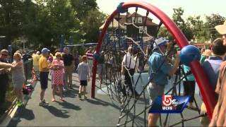 Playground Dedicated To Fallen Firefighters