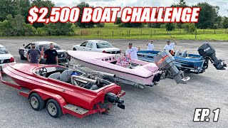 homepage tile video photo for $2,500 Boat Challenge Ep.1 - Boat Ramp SMOOTH Operator Challenge (James Boat Catches Fire)