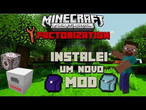 Minecraft PE Com Mods FACTORIZATION #9 Miner's Backpack