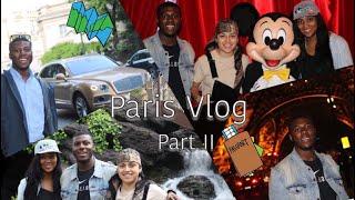 PARIS VLOG PART II: Disneyland Paris, Eiffel Tower, & Touring Paris | VLOG 18