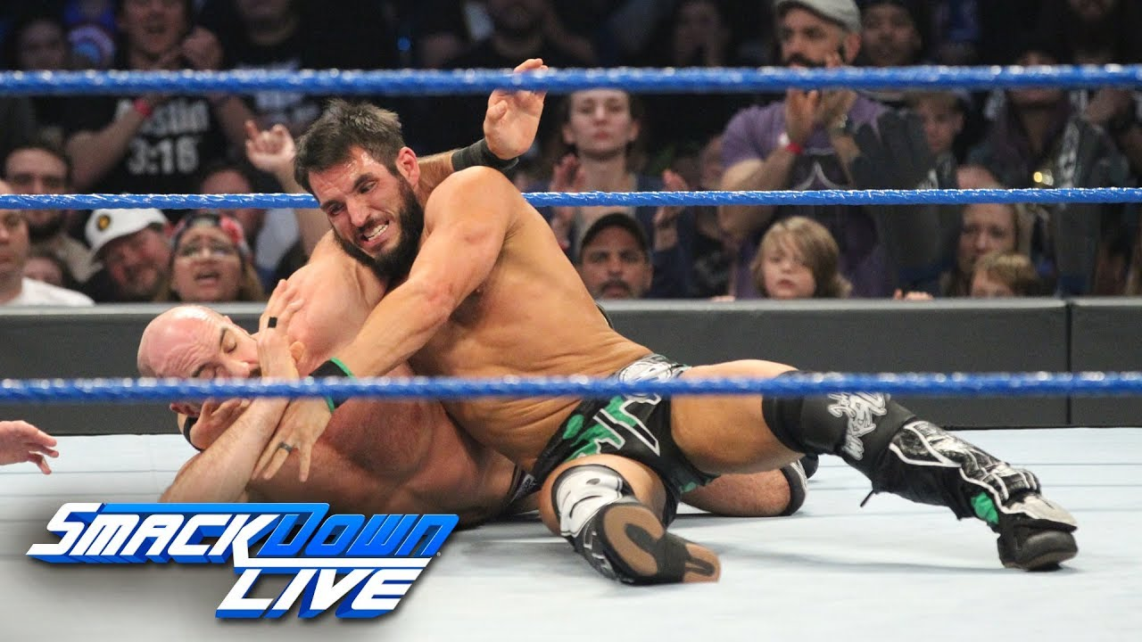 Johnny Gargano & Tommaso Ciampa vs. The Bar: SmackDown LIVE, Feb. 19, 2019