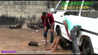 Emmanuella and Mark Angel Comedy - Mechanic Troubled (SeelafinComedy)