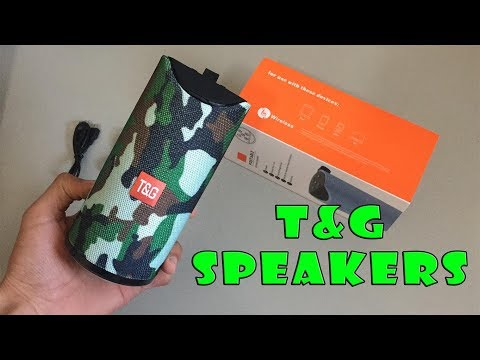 unboxing the best bluetooth speakers T&G