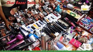 Delhi's Chor Bazaar 4k | Meena Bazaar | cheapest Market | Scrap market chandni chowk