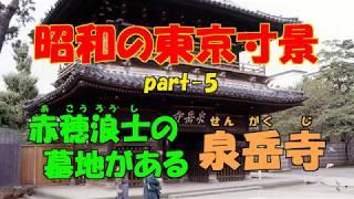 昭和55・56年に撮影した、東京の名所旧跡や地域の行事などの寸景をスラ...