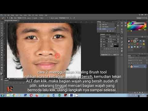 Tutorial Photoshop Cs6 Cara Retouching Menghilangkan Noda Di Foto Dan Mencerahkan Wajah Youtube