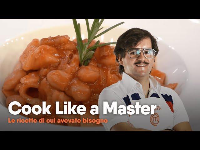 Giuseppe Ricchiuti - Taccunell e fagioli | Cook Like a Master