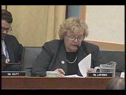Rep. Zoe Lofgren On Patent Office Locations, Patent Wars & Innovation
