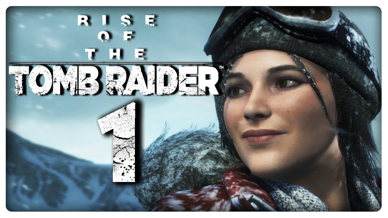 RISE OF THE TOMB RAIDER Part 1: Sibirische PC Version in 4K - YouTube