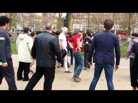 Trouble - Speakers Corner Hyde Park London 2014. (2)