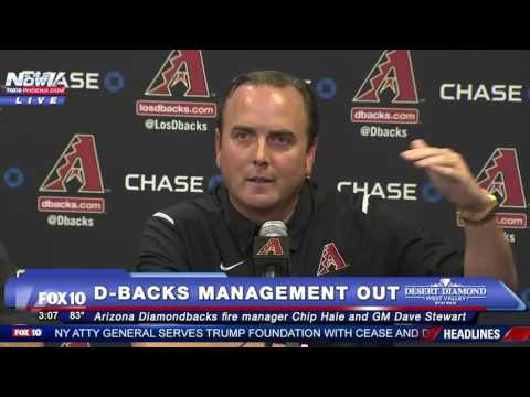 FNN: Arizona Diamondbacks Fire Manager Chip Hale and General Manager - PRESS CONFERENCE