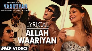 """Allah Waariyan"" Full Song with Lyrics 