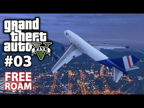 How To Steal A Jumbo Jet Airplane In GTA V