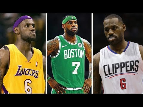 10 Possible Destinations For LeBron James If He Opts Out In 2018