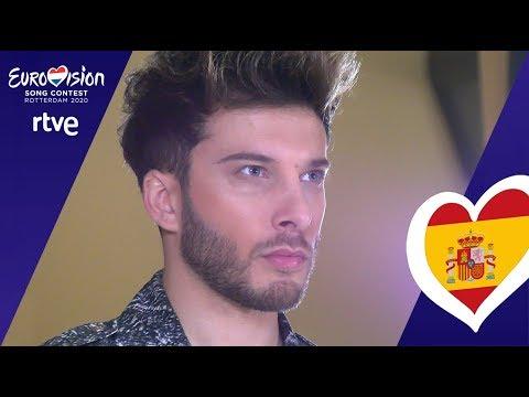 BLAS CANTÓ GRABA LA POSTAL DE ESPAÑA | Eurovisión 2020