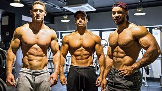 Back & Biceps Ft. Justin St Paul & MattDoesFitness