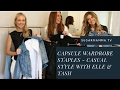 Capsule Wardrobe Staples - Casual Style with Elle & Tash || SugarMamma.TV