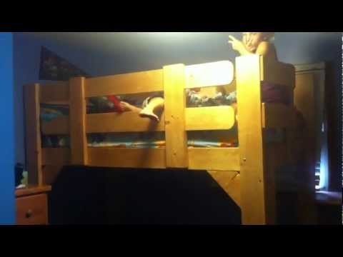 Homemade loft bed # 3