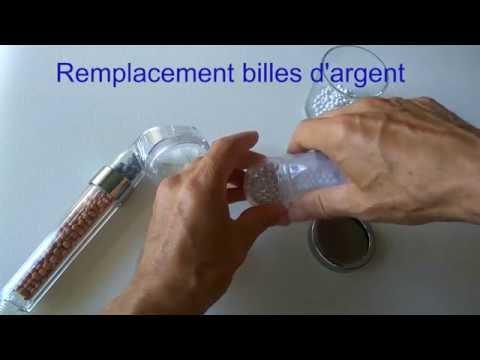 instruction douchette bionic shower
