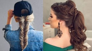 Latest Beautiful hairstyle for Long Hair girls | Bun hairstyles for Girls #6