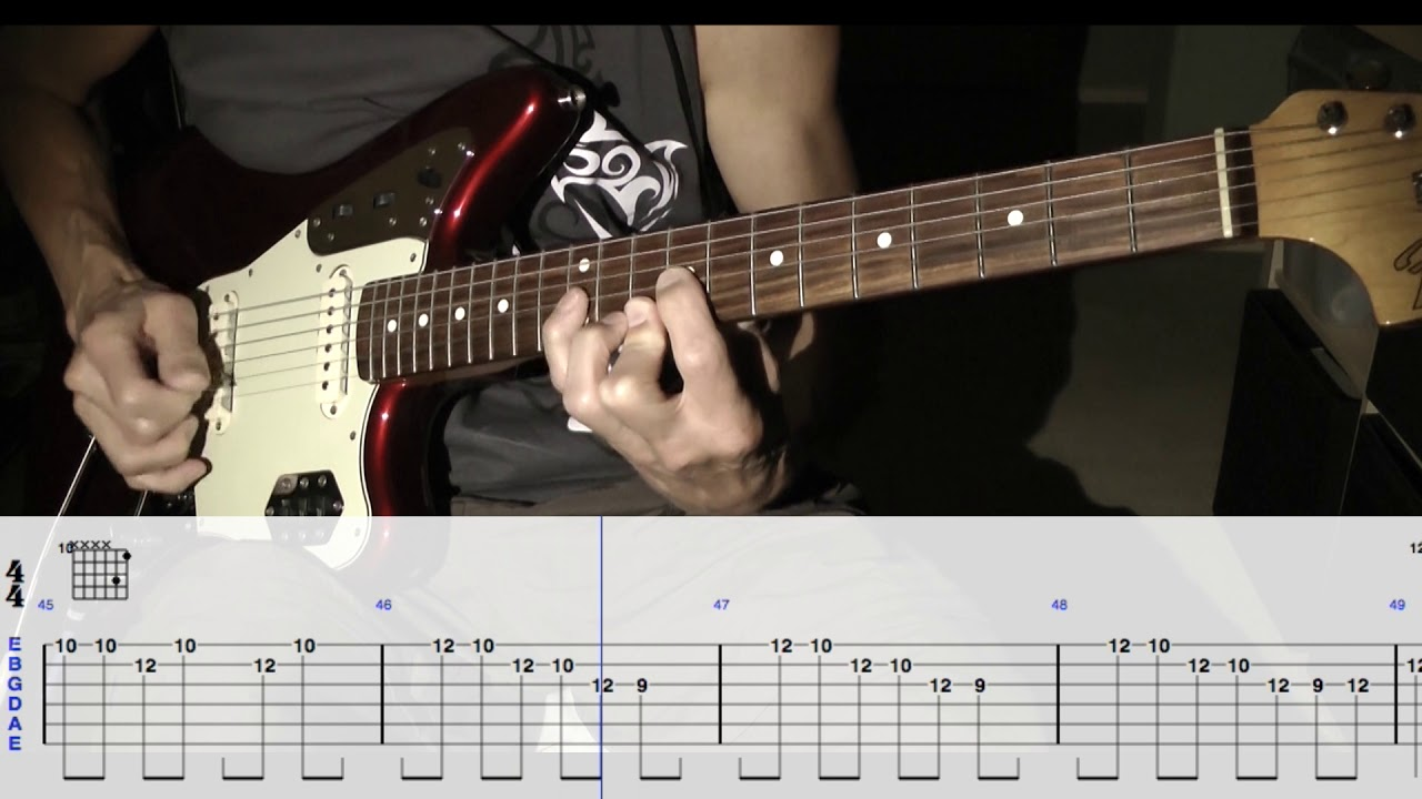 The Astronauts Firewater Guitar Lesson Youtube