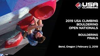 2019 USA Climbing: Bouldering Open National Championships | Finals