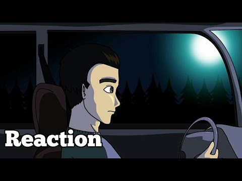 True Pizza Delivery Horror Storys Animated Reaction|Linx Viera