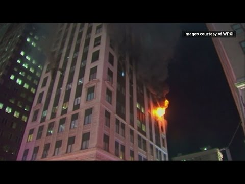 High-rise apartment fire kills woman in Pittsburgh