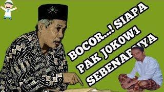 KH. Marzuqi Mustamar Dapat Bocoran Jokowi yang Sesungguhnya