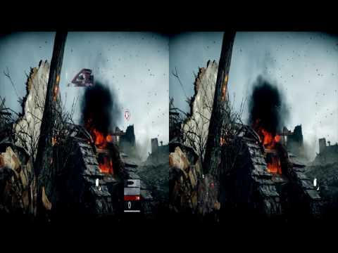Battlefield 1 : 3D Full screen PlayStation VR on PC + head tracking : the one with the tank