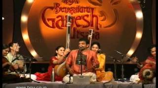 T M Krishna performing at 49th Bengaluru Ganesh utsava - video 2