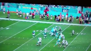 Dolphins vs Jets 96 Yard PR Touchdown