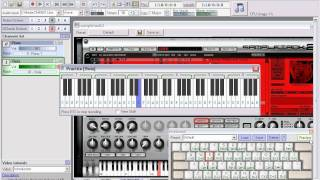 Using VST Instruments with KB Piano
